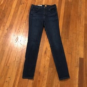 Pilcro Superscript High-waisted Skinny Jeans 28T